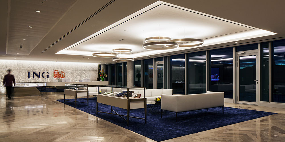The Brief Presented To Lighting Designers, Nulty, Was To Create A Scheme  That Worked Seamlessly With The Tp Bennett Designed Interiors, While  Complementing ...